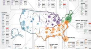 The Richest Zip Codes in America in One Map
